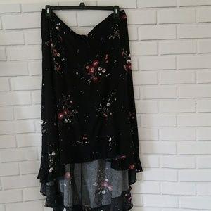 TORRID Hi_Lo Skirt